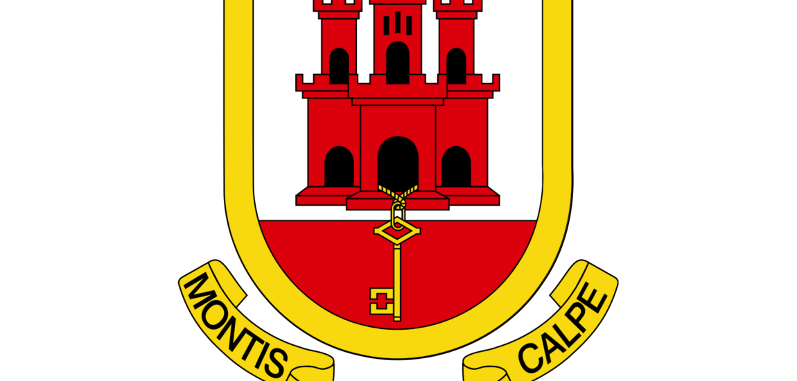 montis insignia calpe – Badge of the Rock of Gibraltar (motto)